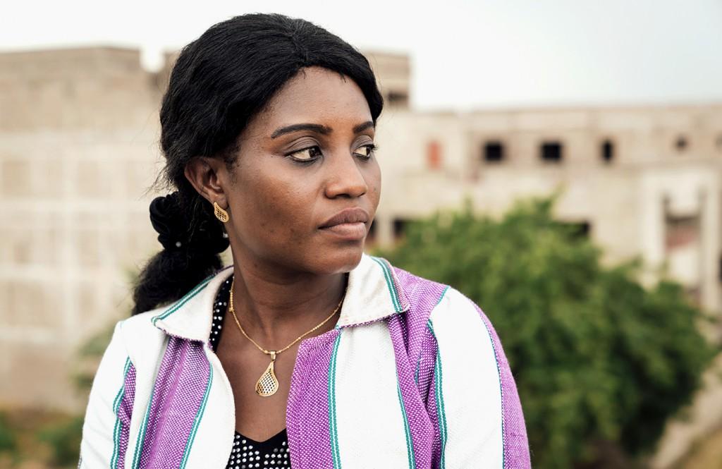 Ms. Diop Djènèba Mariko, head of CVJR Regional Office in Bamako. October 2017 (Hannah Dunphy/JRR)