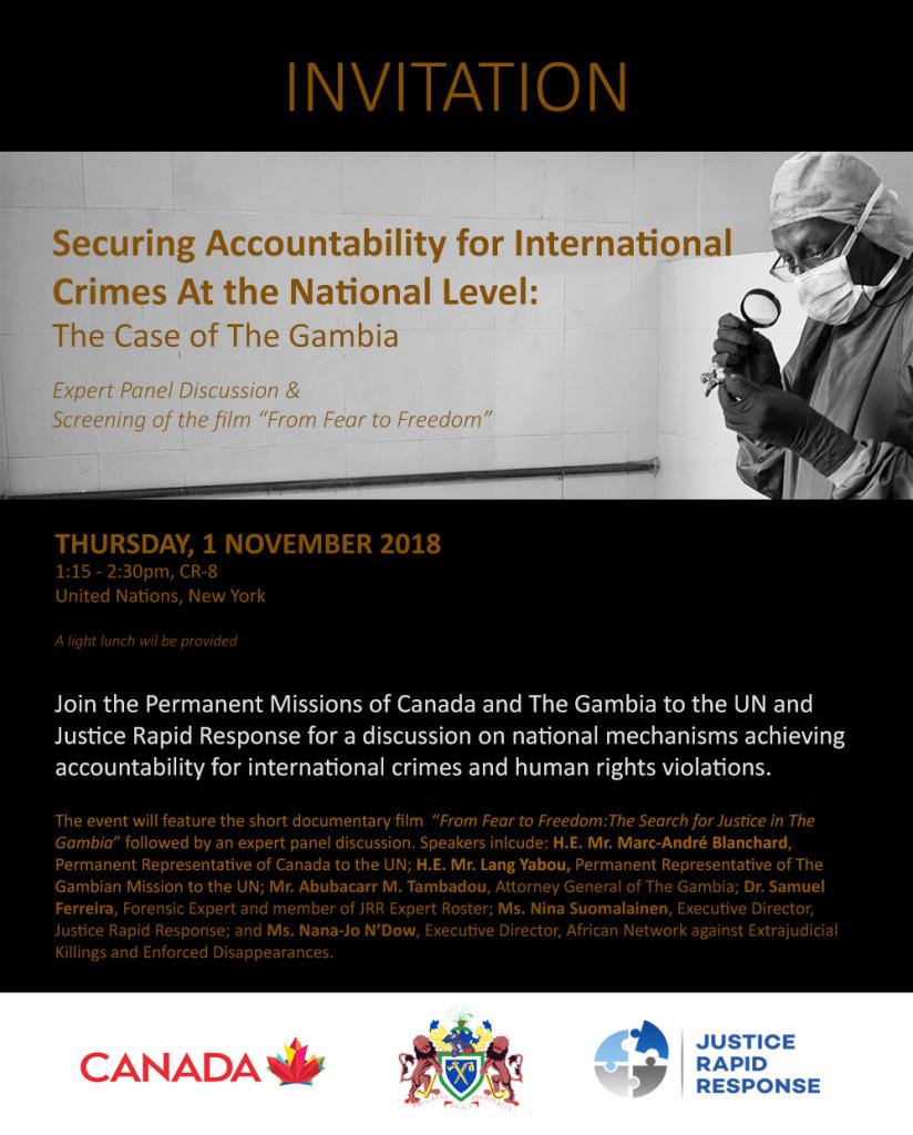 JRR Gambia Event INVITATION